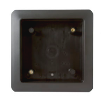 Bea 10BOX475SQFM, 4.75 inch square flush mount box