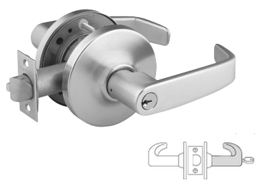 Sargent 28-60-10G04 Storeroom Lever Lock - Large format IC core - less core