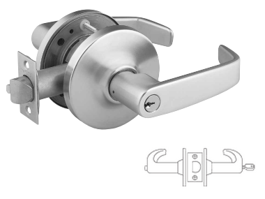Sargent 28-60-10G44 Service Station Lever Lock - Large format IC core - less core