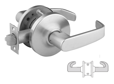 Sargent 10U94-2 Double Lever Pull