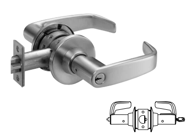 Sargent 11G05 Entrance or Office Lever Lock