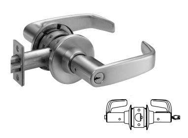 Sargent 11G24 Entrance or Office Lever Lock