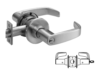 Sargent 11G37 Classroom Lever Lock