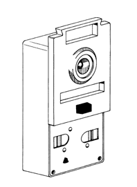 S.Parker 1602DCH Combination Door Chime And Intervier - Dull Chrome  sc 1 st  American Locksets & Parker 1602DCH Combination Door Chime And Intervier - Dull Chrome