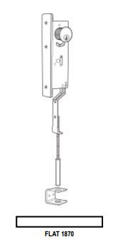 Elco Lighting EL 745W 7 WALL WASH BFL W//RFLCTR