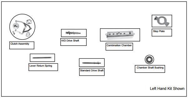 EE1000 Series Service Kit Simplex