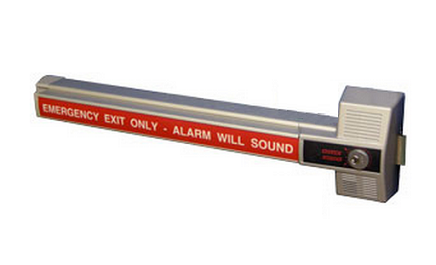 Detex ECL-230X Alarmed Dead Bolt Panic Device
