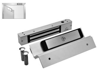 Dynalock 2511-TJ Mini-Mag Electromagnetic Lock For Single Inswinging Doors  sc 1 st  American Locksets & Dynalock 2511-TJ Mini-Mag Electromagnetic Lock For Single Inswinging ...