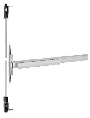 Von Duprin 3347A-EO Concealed Vertical Rod Exit Device