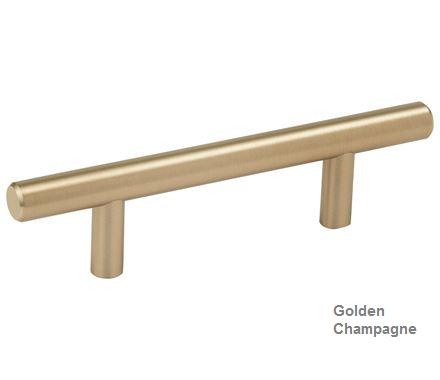 Amerock Bp40515 Bbz Bar Pull 3in 76mm Ctc Golden Champagne