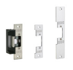 SDC 45-A Universal Electric Strike with 3 Different faceplates
