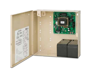"SDC 631RF Power Supply With Charger, 12/24VDC, 1.5 Amp, Emerg. Release, 12"" x 12"" Cabinet"