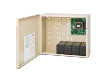 "SDC 631RFA Power Supply With Charger, 12/24VDC, 1.5 Amp, Emerge. Release, 16"" x 14"" Cabinet"