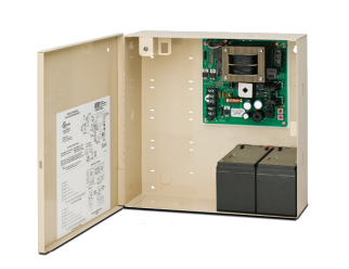 "SDC 632RF Power Supply With Charger, 12/24VDC, 2 Amp, Emerg. Release, 12"" x 12"" Cabinet"
