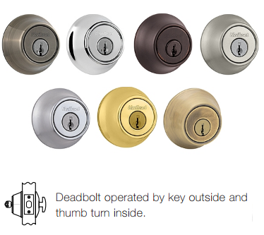 Kwikset 660 Deadbolt - Single Cylinder