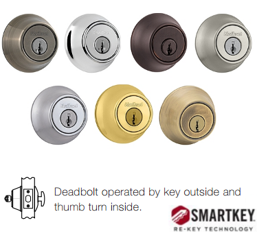 Kwikset 660 SMT Deadbolt - Single Cylinder - SmartKey