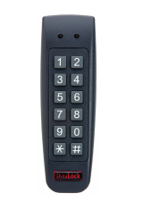 Dynalock 7450 Digital Keypad - Narrow Mullion Design-2x6 Matrix Keypad - Water Resistant