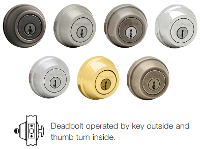 Kwikset Signature 780 Deadbolt - Single Cylinder