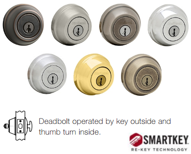 Kwikset Signature 780 SMT Deadbolt - Single Cylinder - SmartKey
