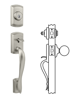 Kwikset Avalon Handlesets - Single Cylinder