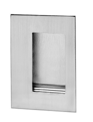 Rockwood 94l Us32d Flush Pull With Lugs Satin Stainless