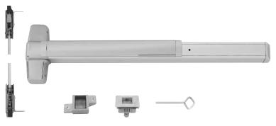 Von Duprin 9847EO4A4 9847EO 4A Concealed Vertical Rod Device 4 4/'