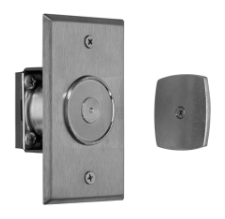 Rixson 989 689 Flush Mount Electromagnetic Door Holder/Release, Wall Mounted