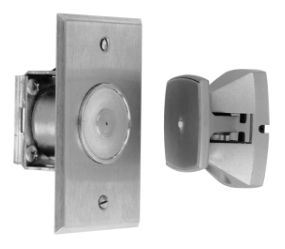 Rixson 990 689 Flush Mount Electromagnetic Door Holder/Release, Wall Mounted