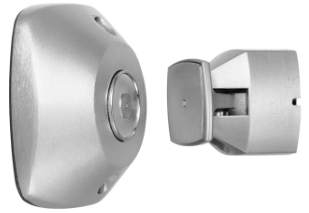 Rixson 999M 689 Electromagnetic Door Holder/Release, Universal Wall Mount,