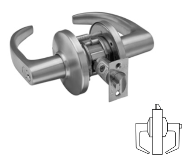 Stanley / BEST 9K30P Grade 1 Patio Lever Lock