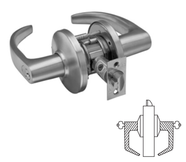 Stanley / BEST 9K37W Grade 1 Institutional Lever Lock