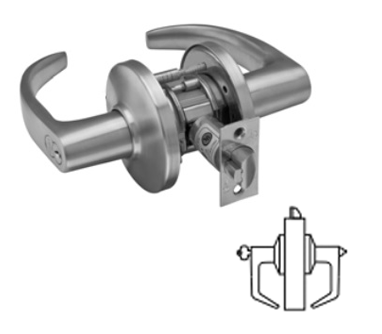 Stanley / BEST 9K37AB Grade 1 Entrance Lever Lock