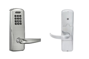 Schlage AD-200-CY-40-KP Cylindrical Keypad Standalone Electronic Lock W/ Audit Trail - Privacy Function