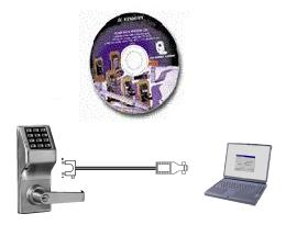 Alarm Lock ALPCI2 Trilogy PC Software & Cable