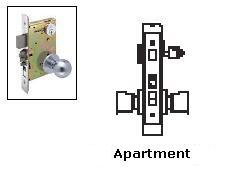 Arrow AM11 Apartment Mortise Lock