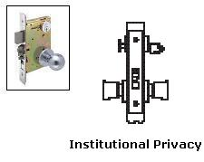 Arrow Am27 Institutional Privacy Mortise Lock