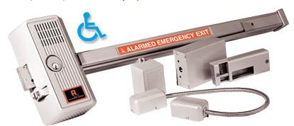 Alarm Lock 715 Delayed Egress Panic Alarm Device