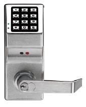 Alarm Lock Trilogy DL2800IC 26D Audit Trail Lock, Accepts IC Core (Best)- Satin Chrome (Special Price)
