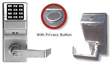 Trilogy DL4100IC Lock w/ Audit Trail, Privacy Feature, IC Core