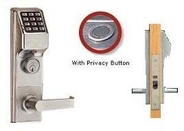 Trilogy DL4500 Digital Mortise Lock, Audit Trail, Privacy Type