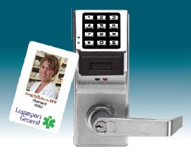Alarm Lock Trilogy PDL3000 26D Digital Prox Card Lock w/ Audit Trail- Satin Chrome (Special Price)