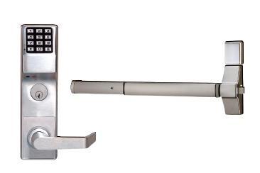 trilogy etdl s1g exit trim keypad digital lock with audit trail. Black Bedroom Furniture Sets. Home Design Ideas