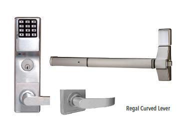 Trilogy Etdl R1g Exit Trim Keypad Digital Lock With Audit