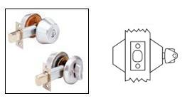 Arrow D63 Cylinder x Blank Deadbolt