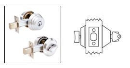 Arrow E61 Single Cylinder Deadbolt