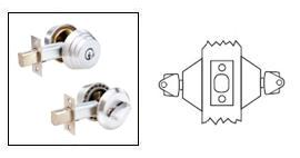 Arrow E62 Double Cylinder Deadbolt