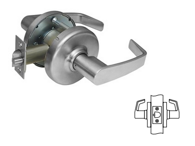 "Corbin Russwin CL3310 D214 Passage Lever For doors over 2"" (51mm) - 2-1/4"" (57mm) Thick"