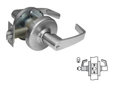 "Corbin Russwin CL3357 - D214 Storeroom Lock  For doors 2""- 2-1/4"" Thick"