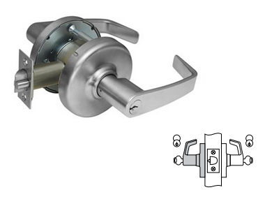 Corbin Russwin CL3372 Apartment Exit or Public Toilet Lock