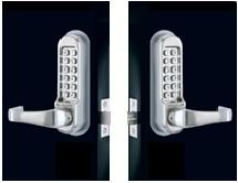 Codelocks CL5210BB Heavy Duty Electronic Lever Lock - Back to Back